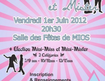 affiche mini miss