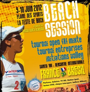 affiche Session Beach Volley