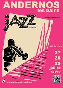 affiche festival jazz andernos