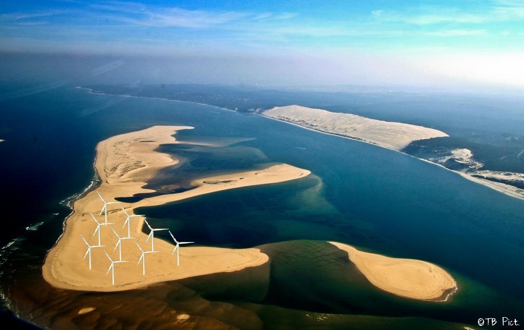 Bientôt Des éoliennes Sur Le Banc Darguin Infobassin