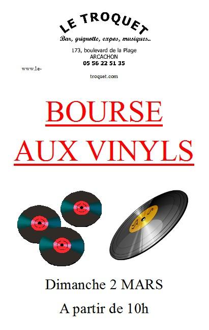 bourse aux vinyls troquet