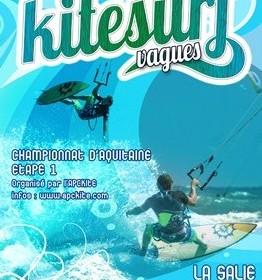 kite surf vagues