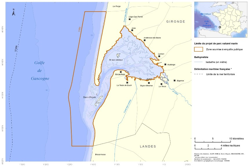 perimetre parc marin