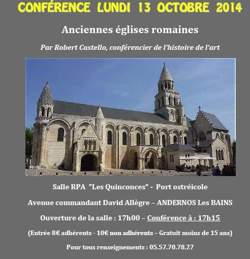 conf France italie eglises