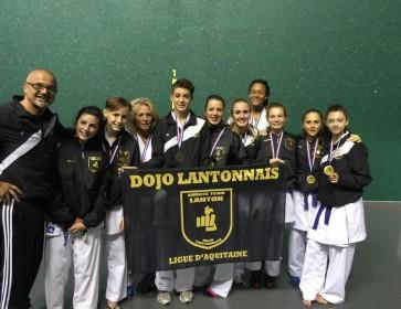 Karate Lanton coupe aquitaine pau