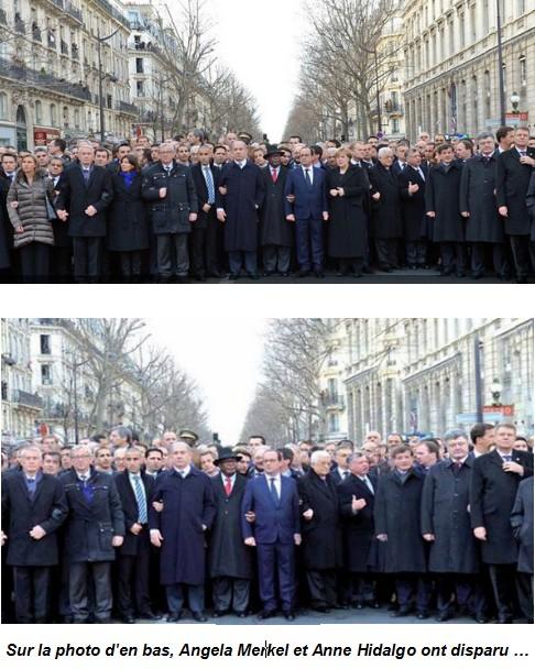 Photos defilé retouchée