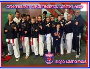 championnat combat dojo lantonnais