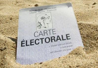 carte electorale sable