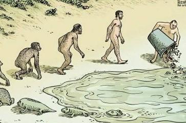 evolution de l' homme