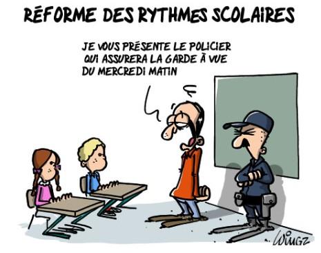 reforme rythmes scolaire