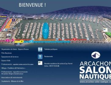 salon nautique 2015 plan