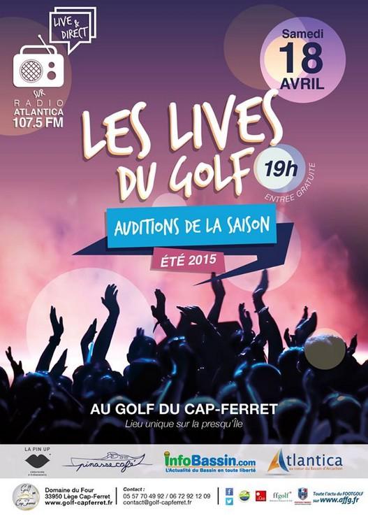 lives du golf 2015
