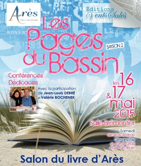 salon les pages du Bassin 2015