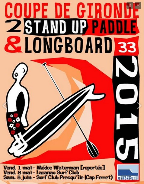 affiche coupe gironde paddle