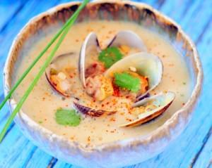 soupe thai palourdes