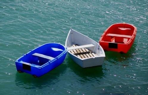 barques bleu blanc rouge