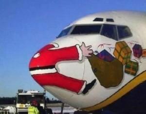 avion tape pere noel