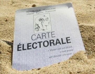 carte de vote sable