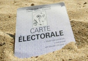 carte de vote sable