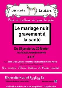 zebre mariage