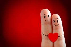 St valentin 2 doigts