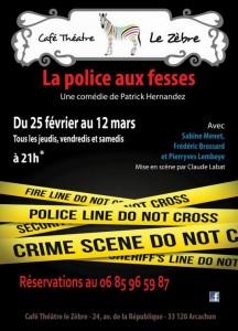 la police aux fesses