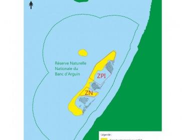 carte RNN banc arguin
