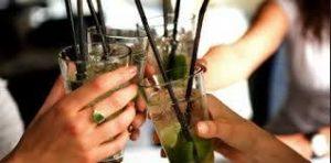 soiree filles verres