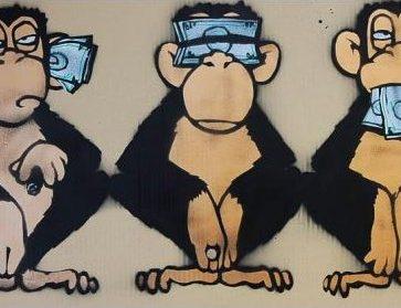 argent 3 singes