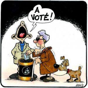 vote aveugle