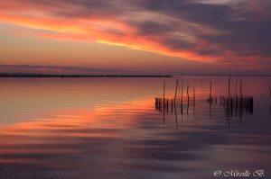 Miireille Bleriot coucher de soleil