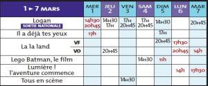 programme cine rex 1 03 17