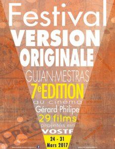Affiche festival VO grand angle