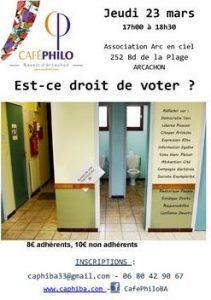 cafe philo est ce dtroit de voter