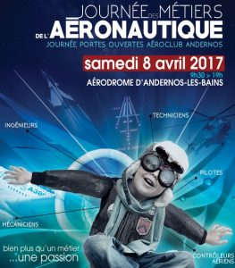 affiche aeroclub courte
