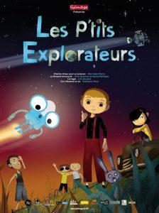 affiche les petits explorateurs