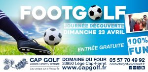 cap golf journee footgolf