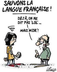franglais lol mdr