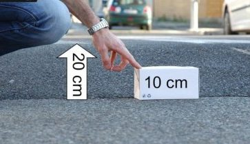 ralentisseur 10 cm