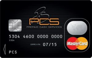 Coupons de rechargement pcs master card de 250