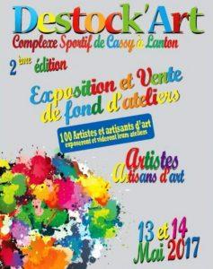 afiche destock art