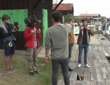 argonautique equipe tournage