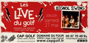 live golf bignol swing