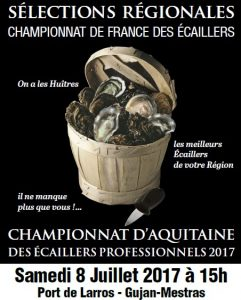 championnats ecaillers 2017