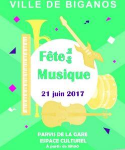 fete de la musique biganos 2017