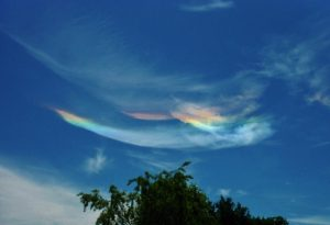 nuages irrisés