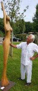 pios et statue