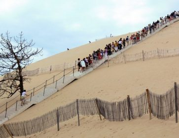 dune du pyla trek earth