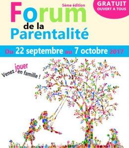 forum parentalité 2017 2