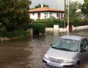 inondation arcachon JF Larrieu